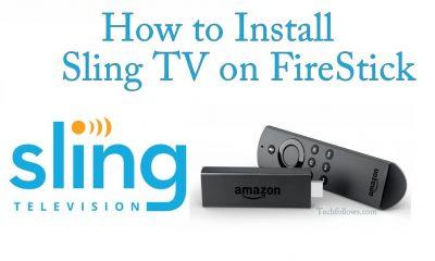 Sling TV on FireStick