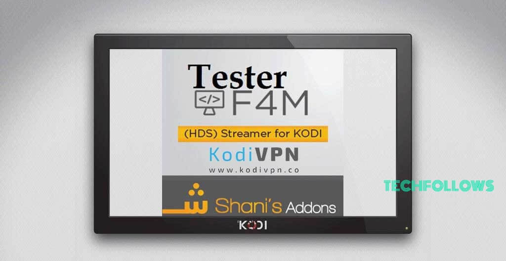 How to Install F4M Tester Addon Using Smash Repository? 2019