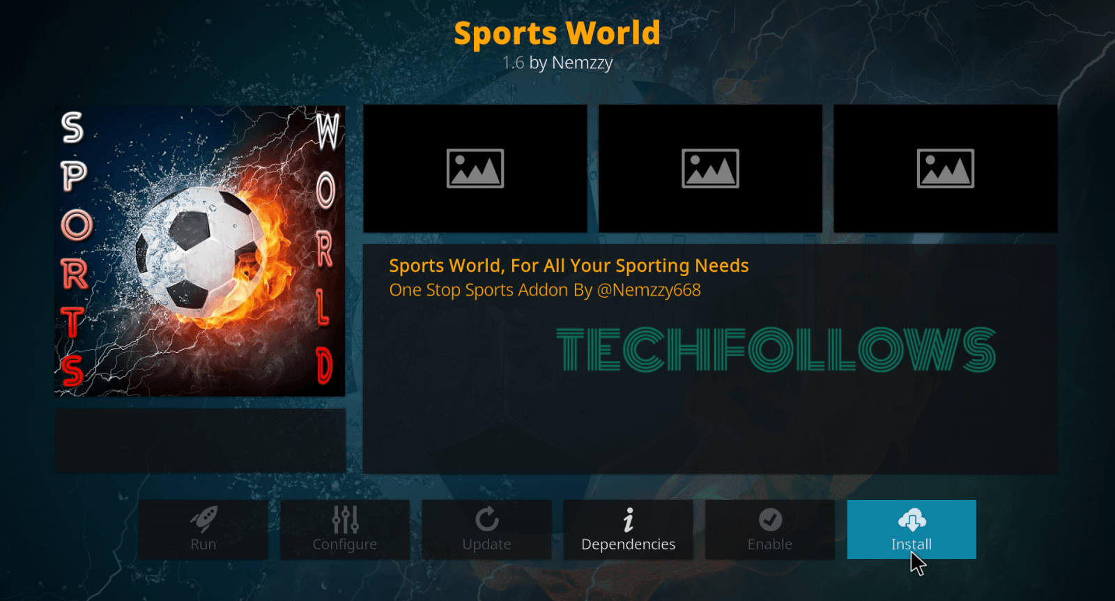 How to Install Sports World Kodi Addon in 2019? - Tech Follows