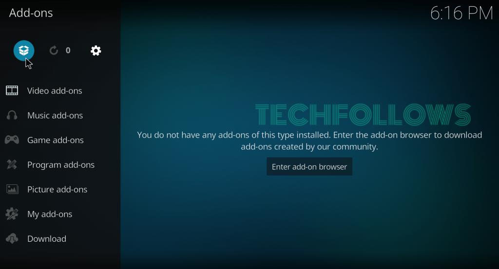 Click Module Icon
