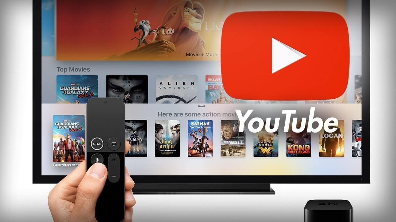 YouTube TV on Apple TV