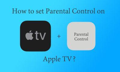 Set Parental control on Apple TV