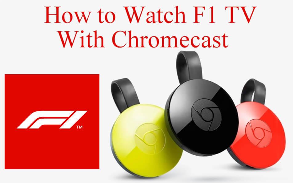 F1 TV Chromecast