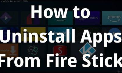 Delete Apps on Firestick