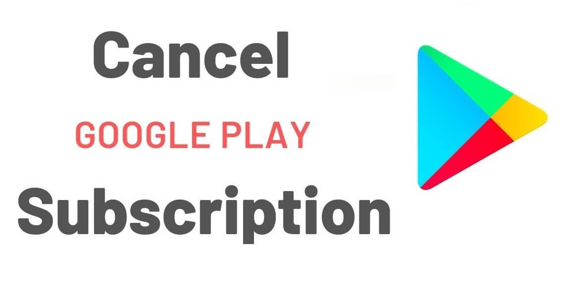Cancel Google Play Subscription