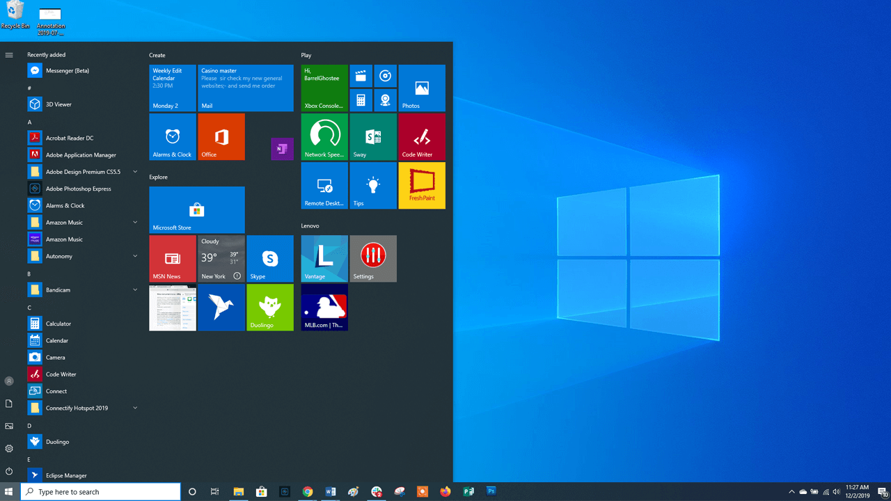 Build a Small Business from Windows 10
