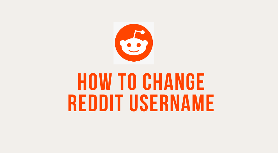 Change Reddit Username