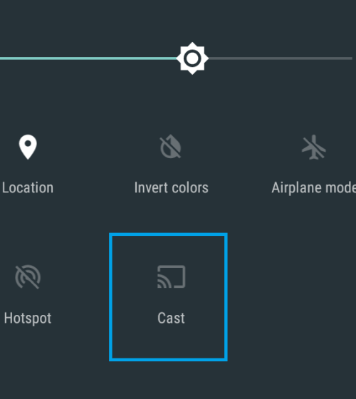 Chromecast Yahoo Sports by Screen Mirroring Android