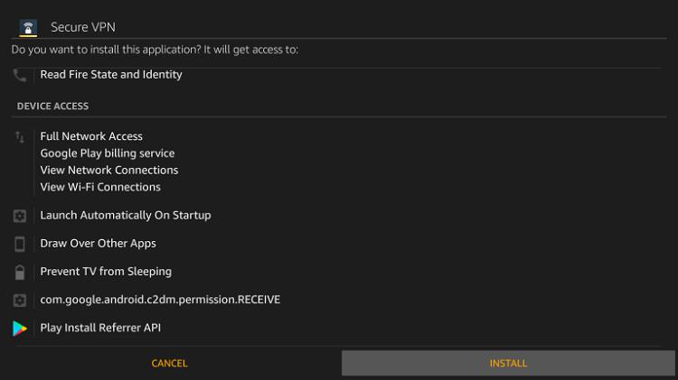 Install Norton VPN on Firestick
