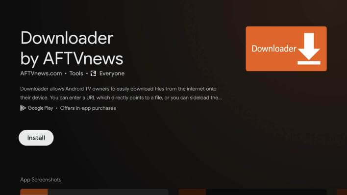 Downloader - Now TV on Chromecast with Google TV
