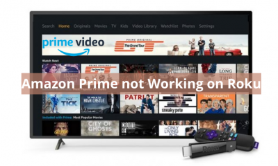 Amazon Prime not Working on Roku