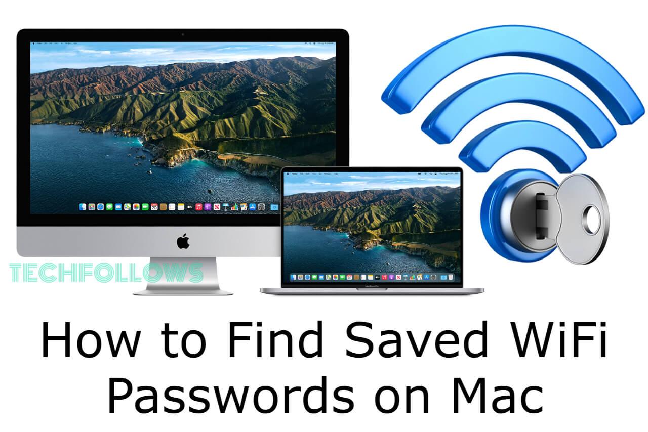 Find WiFi Passwords on Mac