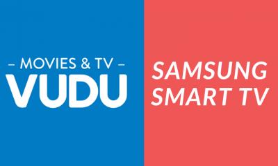 Vudu on Samsung Smart TV